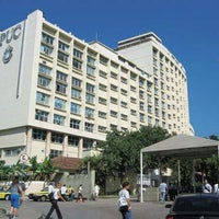 Photo taken at PUC-Rio - Pontifícia Universidade Católica do Rio de Janeiro by Aline S. on 10/26/2012