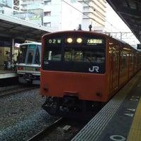 Photo taken at JR Kyobashi Station by kenjin on 12/16/2012