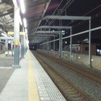 Photo taken at Kishinosato-Tamade Station (NK06) by kenjin . on 2/9/2013