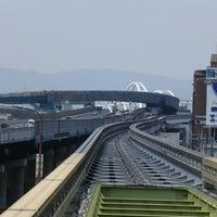 Photo taken at Osaka Monorail Dainichi Station by kenjin . on 5/25/2013