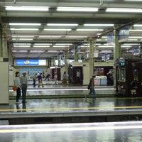 Photo taken at Hankyu Umeda Station (HK01) by kenjin . on 5/25/2013