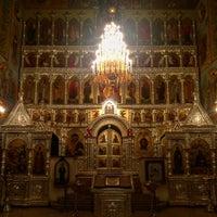 Photo taken at Храм преподобного Сергия Радонежского (Куликово поле) by George K. on 11/17/2016