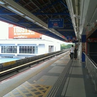 Photo taken at RapidKL Kelana Jaya (KJ24) LRT Station by Azfaar S. on 2/25/2013
