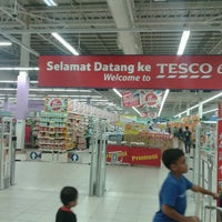 Photo taken at Tesco Extra by Azfaar S. on 3/31/2013