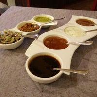 Photo taken at Restaurante Taj by Germán T. on 10/9/2014