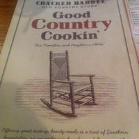 Photo taken at Cracker Barrel Old Country Store by Jason V. on 6/6/2013