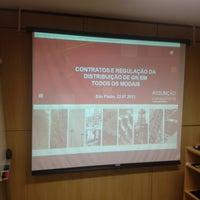 Photo taken at IBDE - Instituto Brasileiro de Estudos do Direito da Energia by Alexandre C. on 7/22/2013