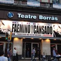 Photo taken at Teatre Borràs by Rafel A. on 6/13/2013
