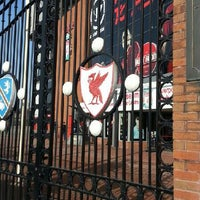 Photo taken at Anfield by Adrian L. on 2/28/2013