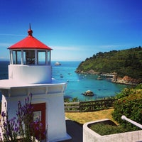 Photo taken at Trinidad Memorial Lighthouse by Jason T. on 6/16/2014