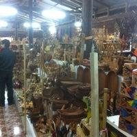 Photo taken at Feria Pueblito Artesanal by Paulina R. on 11/4/2012