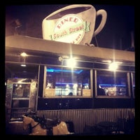 Photo taken at South Street Diner by Lindsey N. on 7/23/2013