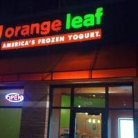 Photo taken at Orange Leaf by Matthew B. on 11/1/2012