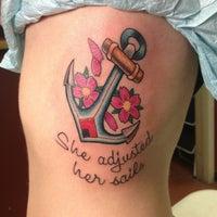 Photo taken at Lark Tattoo by Jesse C. on 5/3/2013