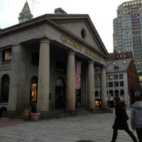 Photo taken at Faneuil Hall Marketplace by Erin M. on 2/5/2013