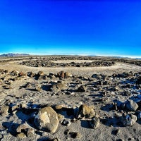 Photo taken at Robert Smithson's Spiral Jetty by Craig F. on 3/5/2016