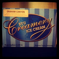 Photo taken at BYU Creamery by Craig F. on 12/28/2012