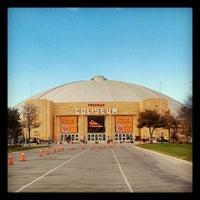 Photo taken at Freeman Coliseum by Craig F. on 2/8/2013