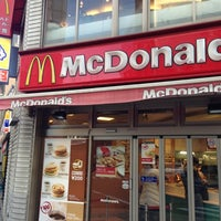 Photo taken at マクドナルド 靱公園前店 by Bob ボ. on 12/12/2012
