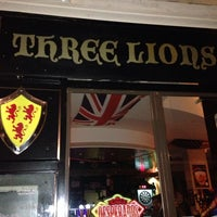 Photo taken at Three Lions Pub by Guillaume L. on 12/19/2013