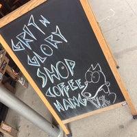 Photo taken at Grit N Glory by Joseph B. on 4/17/2014