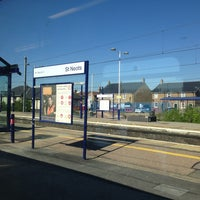 Photo taken at St Neots Railway Station (SNO) by Mark T. on 5/27/2013