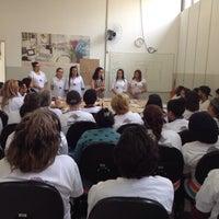 Photo taken at Escola Moda - Unidade São João by Damaris D. on 10/26/2015