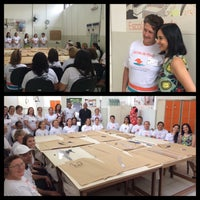 Photo taken at Escola Moda - Unidade São João by Damaris D. on 3/6/2015