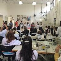 Photo taken at Escola Moda - Unidade São João by Damaris D. on 7/6/2015