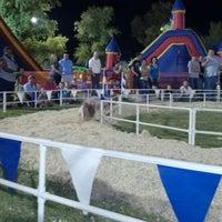 Photo taken at Desert Empire Fairgrounds by Ricky F. on 10/20/2012