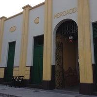Photo taken at Mercado Público de Itajaí by Milena M. on 10/16/2013