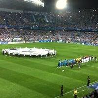 Photo taken at Estadio La Rosaleda by BogEka on 9/18/2012