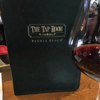 Photo taken at The Tap Room at Pebble Beach by Kathryn C. on 5/20/2018