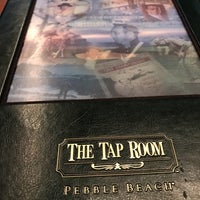 Photo taken at The Tap Room at Pebble Beach by Kathryn C. on 4/15/2017