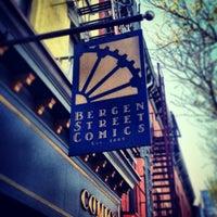 Photo taken at Bergen Street Comics by Ben P. on 5/4/2013