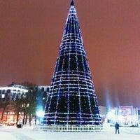 Снимок сделан в Площадь Победы пользователем Denis K. 12/19/2012