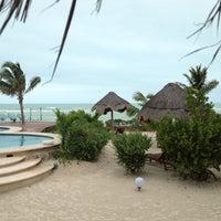 Photo taken at Hotel Villas Flamingos by Monica C. on 3/12/2013