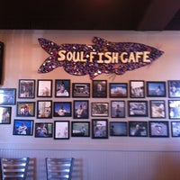 Photo taken at Soul Fish Cafe by Debbie M. on 4/6/2013