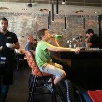 Photo taken at Burgus Burger Bar by Alex G. on 10/25/2013