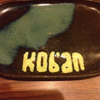 Photo taken at Koban Sushi by Roberta S. on 10/12/2013