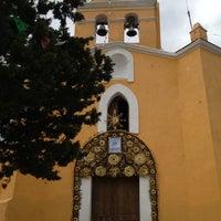 Photo taken at Capilla del Cerro de San Miguel by Marlen C. on 10/12/2012