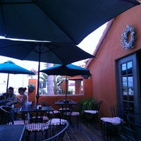 Photo taken at Wildflower Cafe by satoe n. on 9/16/2012
