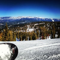Photo taken at Summit Deck & Grill at Northstar California™ Resort by Garrett O. on 2/17/2013