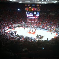 Photo taken at Jon M. Huntsman Center by Pace L. on 1/12/2013