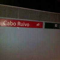 Photo taken at Metro Cabo Ruivo [VM] by Soraia V. on 10/12/2012
