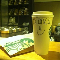 Photo taken at Starbucks by Bianca W. on 1/29/2013