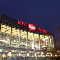 Photo taken at KFC Yum! Center by Rick D. on 11/3/2012