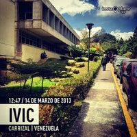 Photo taken at Instituto Venezolano de Investigaciones Científicas (IVIC) by Eddie B. on 3/14/2013