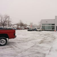 Photo taken at Morrie's Brooklyn Park Nissan by Nick S. on 1/14/2014