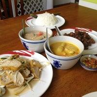 Photo taken at บ้านขนมไทย (ชาววัง) by Nattanee P. on 4/2/2013